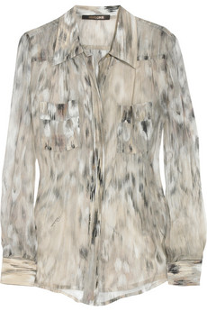 Cavalli silk blouse