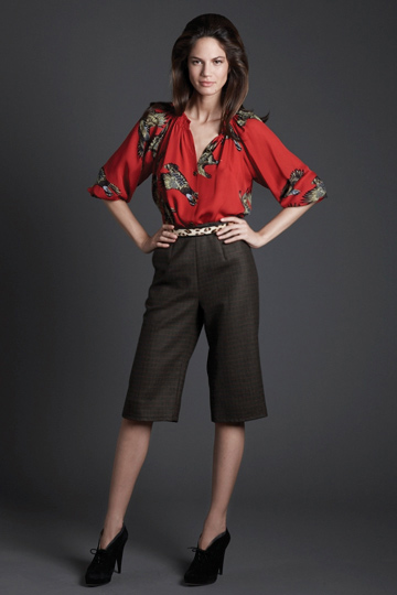 Tucker blouse