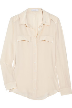 White Blouse - silk
