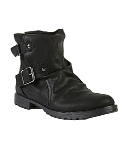 Topshop motorcycle boot