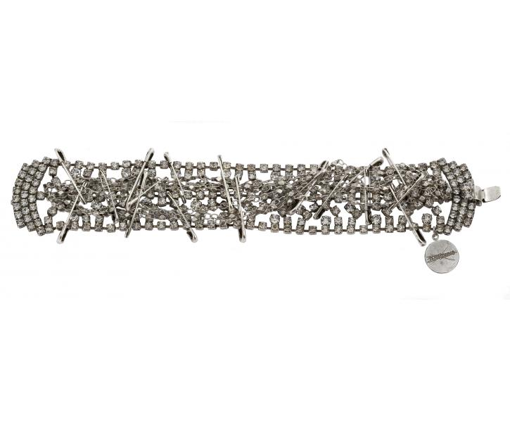 silver safety bracelet