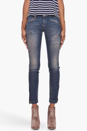 R13 biker jeans
