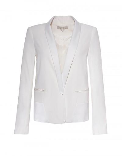 Sandro white blazer