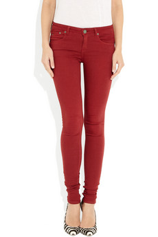 best red jeans