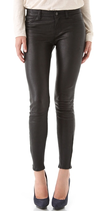 jbrand leather super skinny