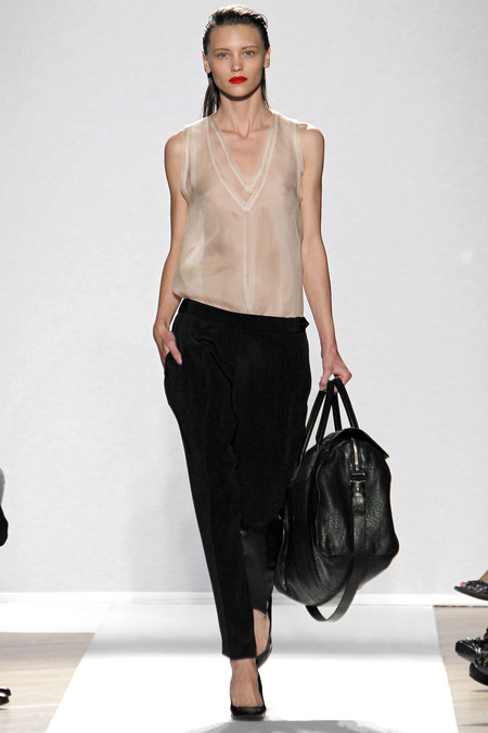 sheer vest and pants
