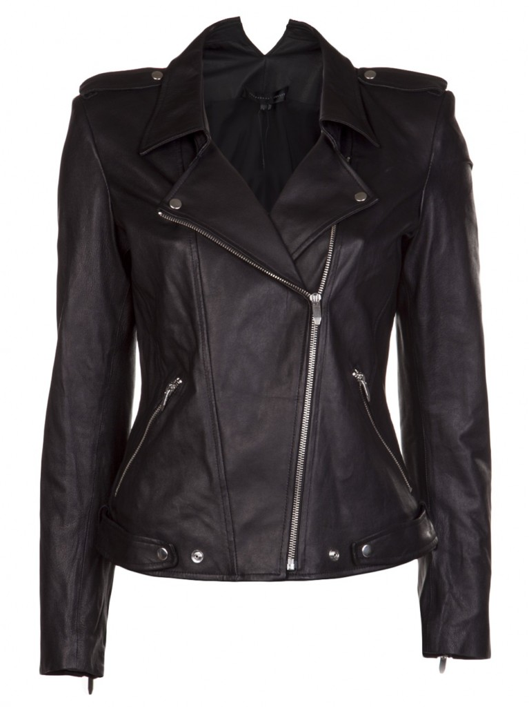Theysken's leather jacket - best
