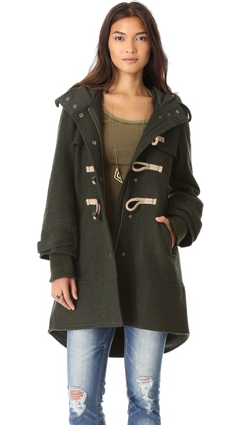 free people mama coat