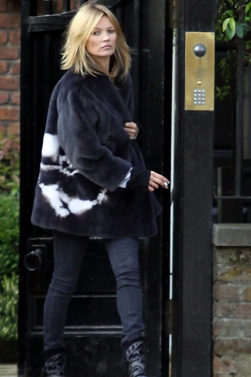 Kate moss now and always